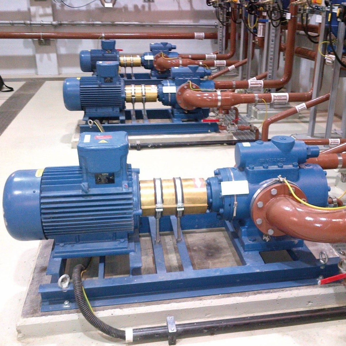 KRAL TWIN & TRIPLE SCREW PUMPS