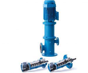 C Series Screw Pumps including space saving pedestal units