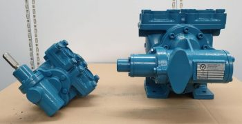VARLEY DOUBLE HELICAL GEAR PUMPS